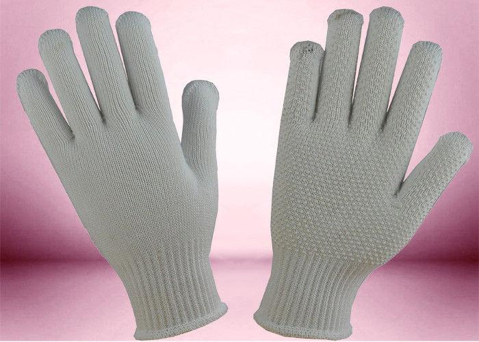 7e4ee2f1898664 Rękawice bawełniane z dzianiny PCV Bezszwowe materiały budowlane  nietoksyczne
